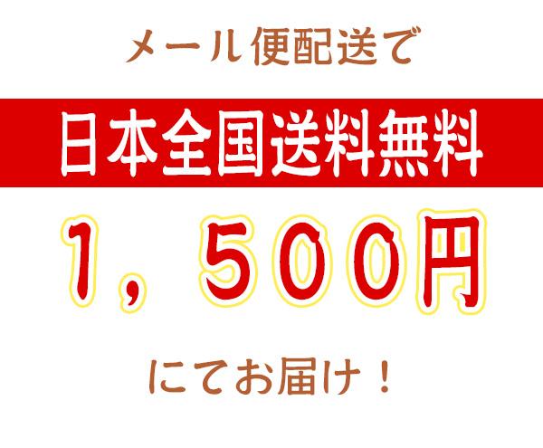 日本全国送料無料1,500円にてお届け!